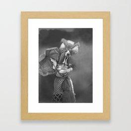 She's a beauty. Framed Art Print