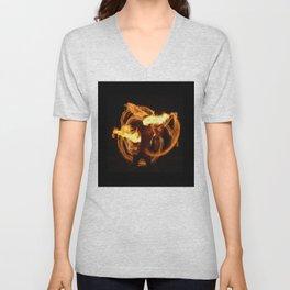 Fire Dancer Unisex V-Neck
