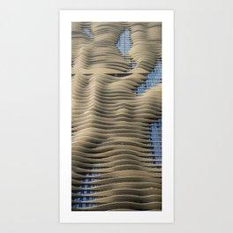 Aqua Tower Chicago Art Print