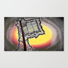 Tribute to my Green Beret Canvas Print