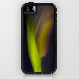Abstract Bristle Grass-Fleur Blur Series iPhone Case