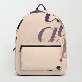 Soulmate Pink #society6 #decor #buyart Backpack