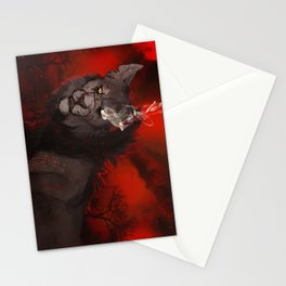 I'll Burn before you Bury Me: Color Variant Stationery Cards