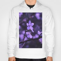 cherry blossoms Hoodies featuring Cherry Blossoms by Monica Georg-Buller