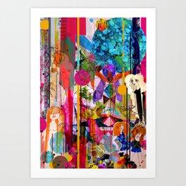 Aimee's World Art Print