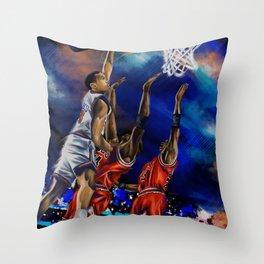 The Dunk Throw Pillow