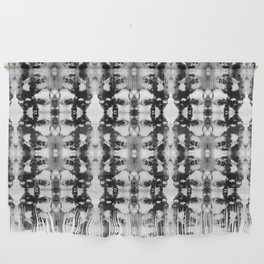 Tie-Dye Blacks & Whites Wall Hanging