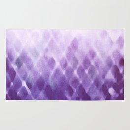 Diamond Fade in Violet Rug