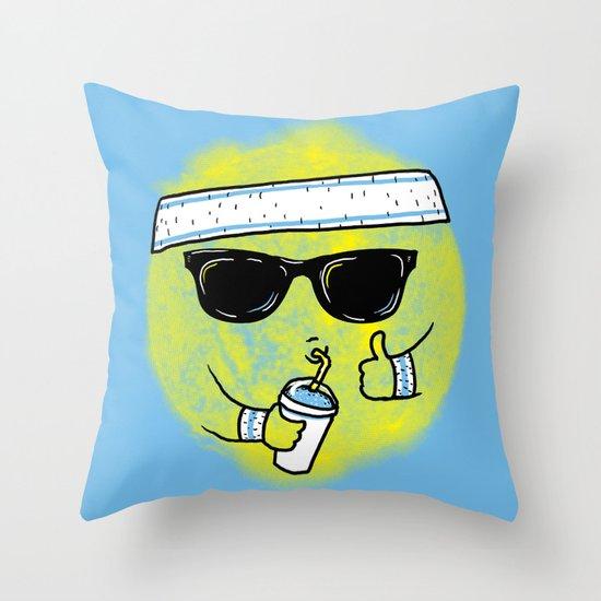 Dealin' With Summer Throw Pillow