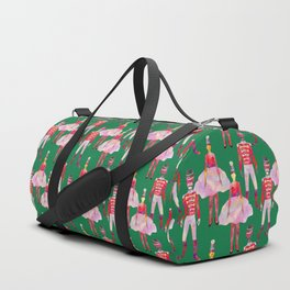 Nutcrackers Green  Duffle Bag