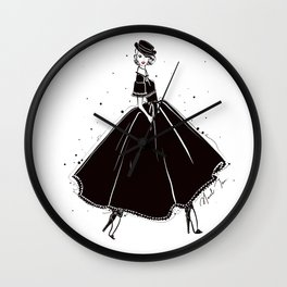 Cara Wall Clock