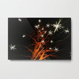 stars in the tree Metal Print