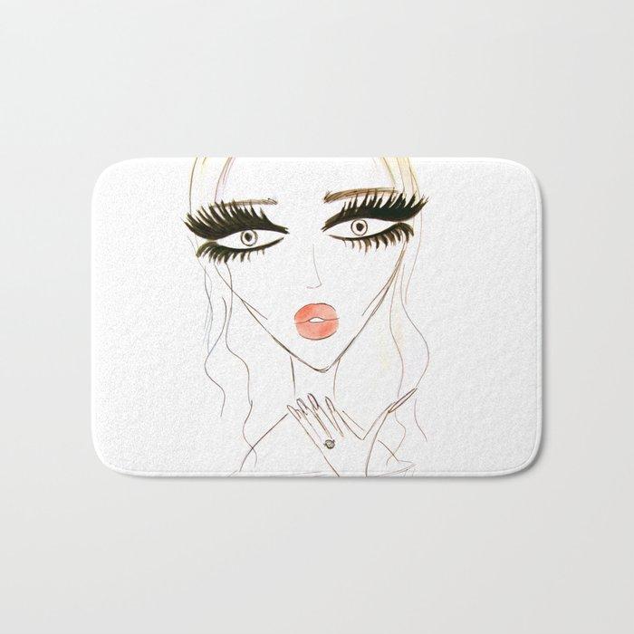 Air Kiss Bath Mat