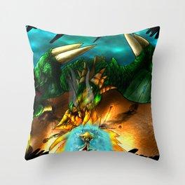 Mage's Test Throw Pillow
