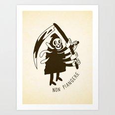 Non piangere Art Print