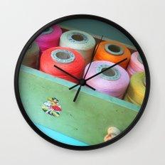 Sew Bright Wall Clock