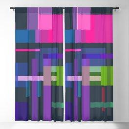 Imitation Mid-20th Century Abstraction, No. 3 Blackout Curtain