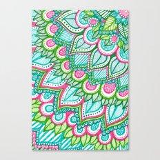 Sharpie Doodle 8 Canvas Print