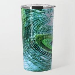 Feather Abstract Travel Mug