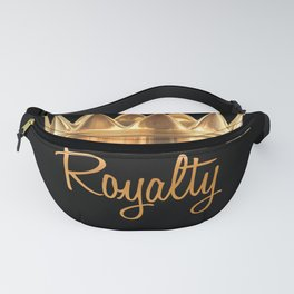Royalty Gold Crown Fanny Pack