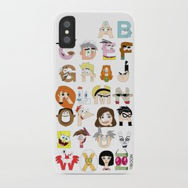 Child of the 00s Alphabet iPhone Case