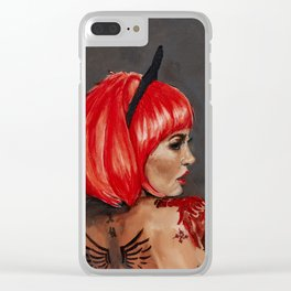 Becky Clear iPhone Case