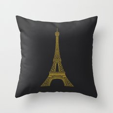 Paris Throw Pillow