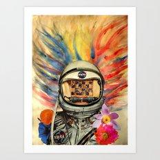 NASA Messed Me Up Art Print