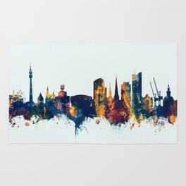 Dortmund Germany Skyline Rug