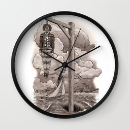 Captain Kidd Wall Clock