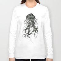 jellyfish Long Sleeve T-shirts featuring Jellyfish by Aubree Eisenwinter