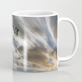 """Moonlit Skyscape"" by Murray Bolesta Coffee Mug"