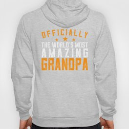 Officially Amazing Grandpa Fathers Day Gift Idea Hoody