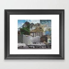 ...Small Town.... Framed Art Print
