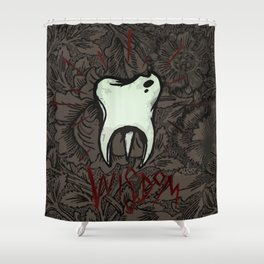 Wisdom Tooth Shower Curtain