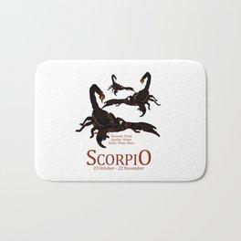 Scorpio Bath Mat