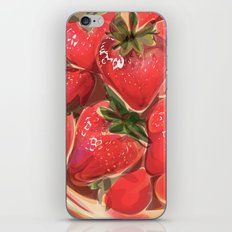 fraises. iPhone & iPod Skin