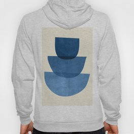 Abstract Shapes 37-Blue Hoody