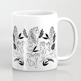 Jungle sketchbook - tiger illustration Coffee Mug