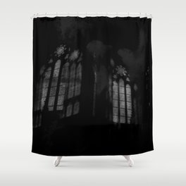 Stained-glass Shower Curtain