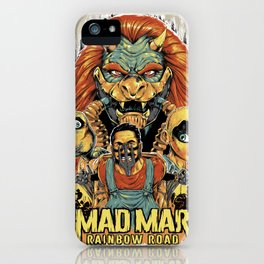 Mad Mar: Rainbow Road iPhone Case