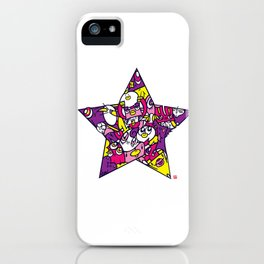 PINK STAR iPhone Case