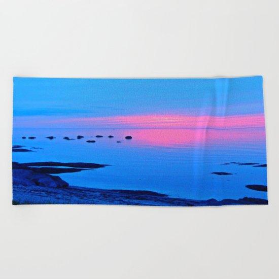 Last Light Beach Towel