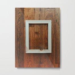 Wooden Floor Hanging. Piece #2 Metal Print