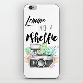 Lemme Take a #Shelfie iPhone Skin