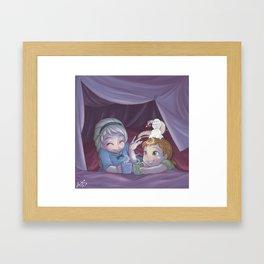 Blanket Fort Framed Art Print