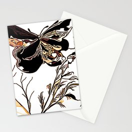 On Butterfly Wings Stationery Cards