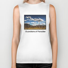 Guardians of Paradise Biker Tank