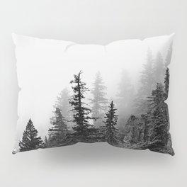 Foggy Trees Pillow Sham