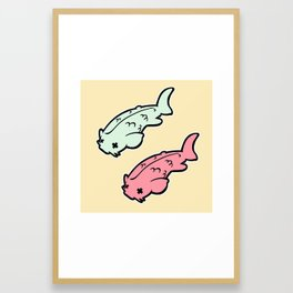 More Koi! Framed Art Print